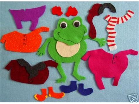 froggy gets dressed flannel board stories pinterest