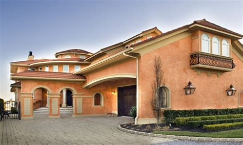 Single Story Mediterranean House Plans by Mediterranean Style House Colors For Homes One Story