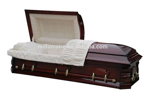 half couch casket half couch solid poplar wood casket and coffin american