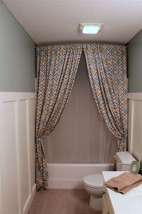 Bathroom Shower Curtain Ideas Designs by Bathroom Interesting Curved Shower Curtain Rod Decor With
