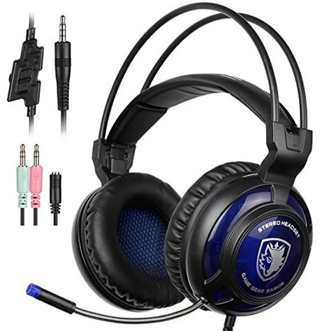 Sades Sa 722 D Power Multi Platform Gaming Headset sades sa 805 ps4 gaming headset surround stereo playstation 4 ear headphones with mic for