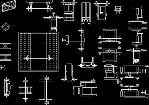 blocks  gym equipment dwg block  autocad designs cad