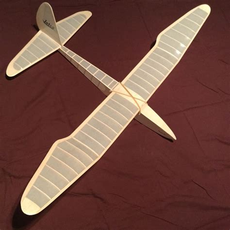 muskoka bali balsa glider airplane crafts model