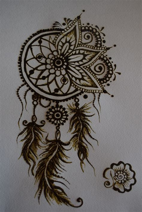 henna tattoos to draw best 25 henna dreamcatcher ideas on