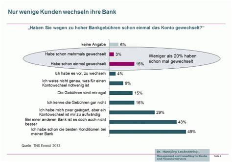 wechsel der bank warum kunden so selten ihre bank oder sparkasse wechseln