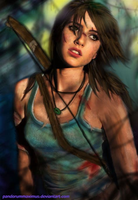 tomb raider by oo monkey oo on deviantart