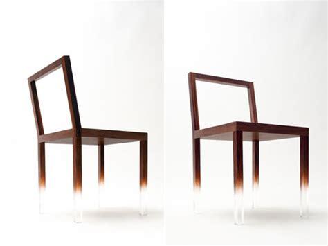 chaise japonaise fade out chair chaise design de la marque japonaise
