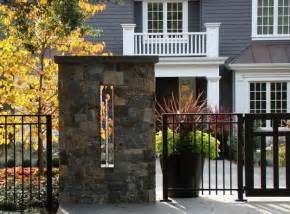 Metal House Designs Beautiful Fence Designs Blending Various Materials For