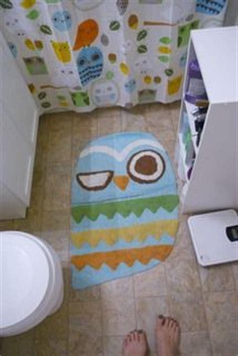owl themed bathroom decor owl shower curtain and accessories on pinterest owl