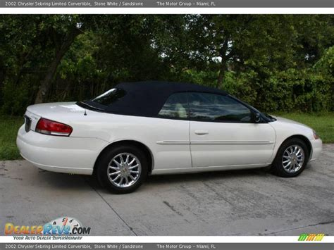 Chrysler Sebring Convertible 2002 by 2002 Chrysler Sebring Limited Convertible White