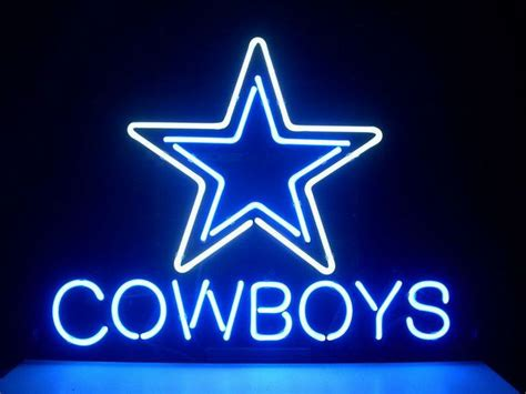 dallas cowboys neon light dallas cowboys neon light beer sign love me some