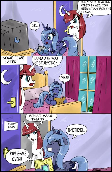 Mlp Luna Meme - gamer luna my little pony friendship is magic know