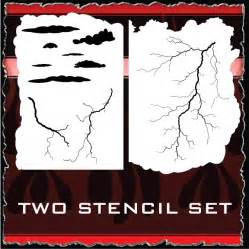 airbrush templates free lightning strikes airbrush stencils store air brushing