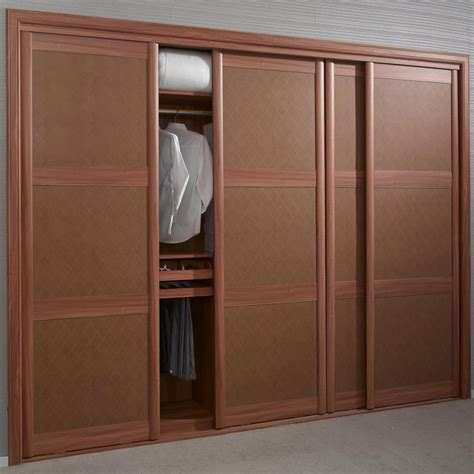 Mdf Sliding Wardrobe Doors by China Brown Sliding Door Mdf Leather Wardrobe Opy2010a 26