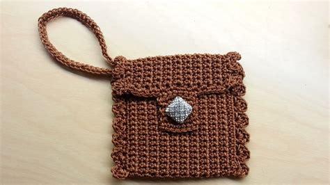 crochet pattern wrist purse crochet how to crochet cute wrist wallet coin purse