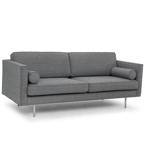 grey tweed sectional sofa cyrus modern sofa grey tweed