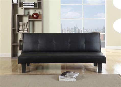 leather bed settees birlea franklin sofa bed settee black faux leather