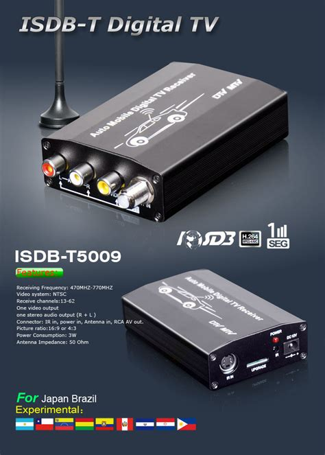 Tv Tuner Android Philippines car isdb t tv tuner with pvr for japan brazil chile philippines