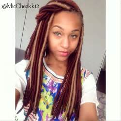 hair style with color yarn yarn faux locs hairstyles pinterest colors the o