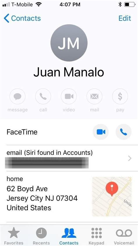 apple maps 101 how to change your home or work address