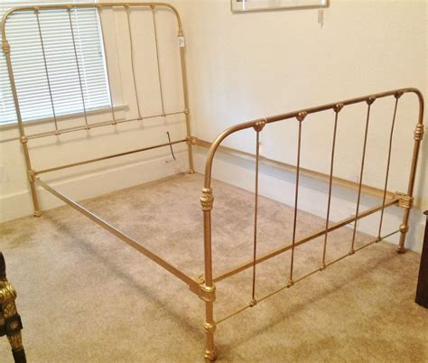 Antique Iron Bed Frame Value Antique Iron Bed Frame Value Home Design Ideas