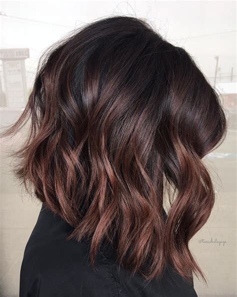 brunette lob hairstyles 2015 70 balayage hair color ideas with blonde brown and