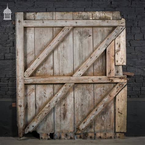 Pine Barn Door Large Ledged And Braced Pine Barn Door