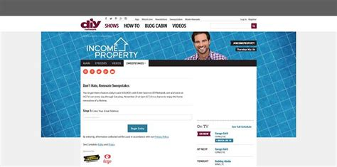 Dont Hate Renovate Sweepstakes - diynetwork com renovate don t hate renovate sweepstakes