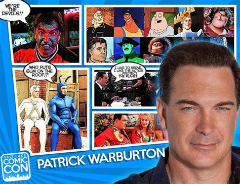 patrick warburton kim possible help us welcome our next salt lake comic con 2014 guest