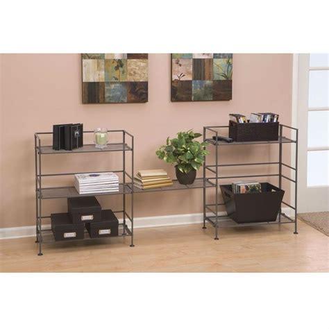 3 shelf iron folding bookcase as 25 melhores ideias de metal bookcase no