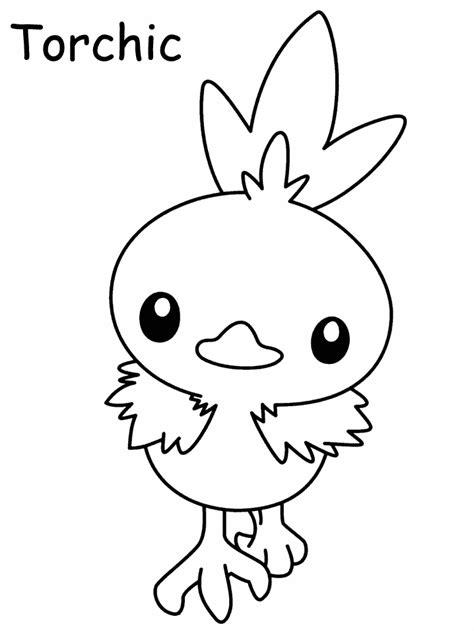pokemon coloring pages of torchic kleurplaten en zo 187 kleurplaten van pokemon