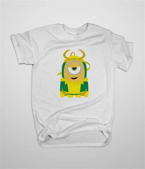 T Shirt Just Do Me 3 High Quality despicable me minion loki avenger t shirt s 3xl high quality custom tshirts t shirts tank