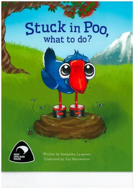 stuck picture book stuck in poo what to do isbn 9780473373603 available