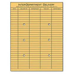 Interdepartmental Delivery Template by Universal Interoffice Envelopes Kraft String Button