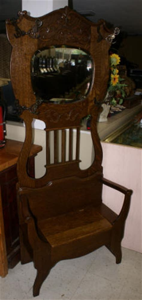 antique tree bench seat solid oak antique bench seat tree