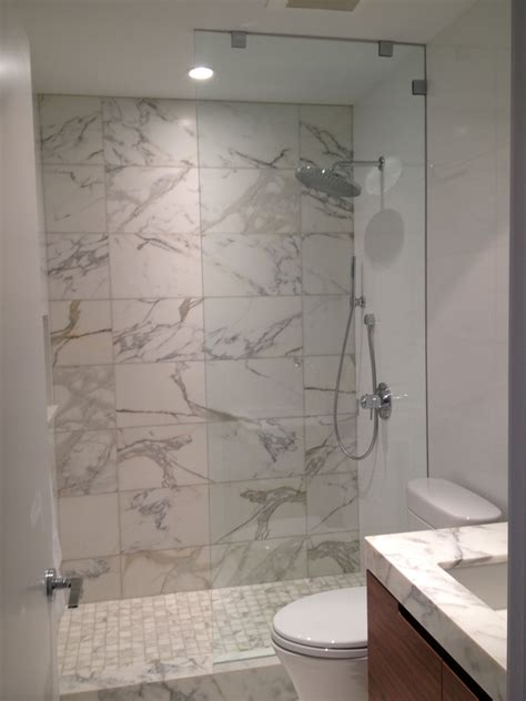 How To Install Frameless Shower Doors Custom Frameless Glass Shower Louisiana Brigade