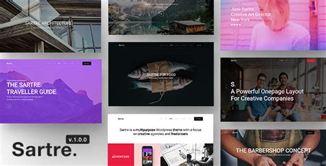 themeforest after effects sartre responsive multipurpose wordpress theme for