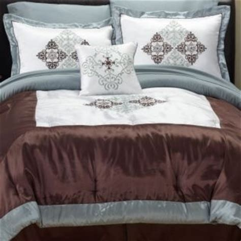 fingerhut glacier king 8pc bed set bedding sets pinterest