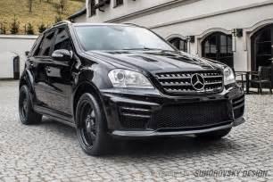 Mercedes W164 Wide Kit For Mercedes Ml W164 Sr66 Design