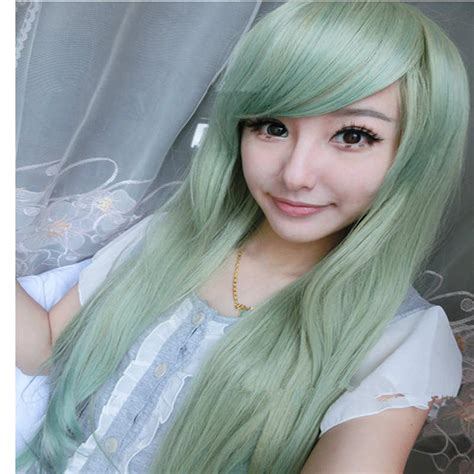 Hairnets Rambut popular mint green hair buy cheap mint green hair lots from china mint green hair suppliers on