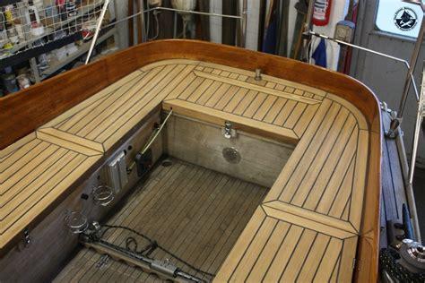 Pvc Bodenbelag Teak Optik by Teakdeck Cockpit Bootswerft K 252 Ntzel