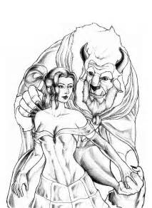 beauty and the beast by rossowinch on deviantart