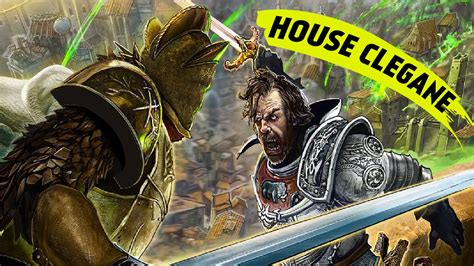 house clegane the secrets of house clegane game of thrones youtube
