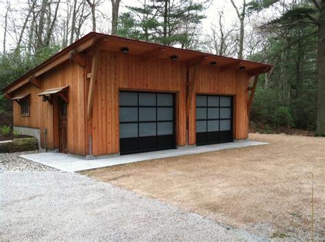 shed roof garage plans two car garage