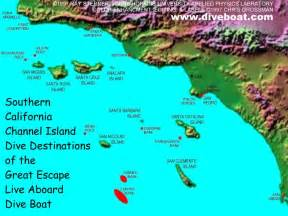 california islands map map of the california channel islands destinations of