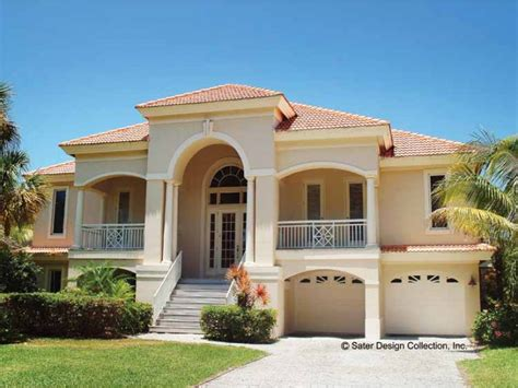 Bungalow House Plan by Eplans Mediterranean House Plan Mediterranean Villa