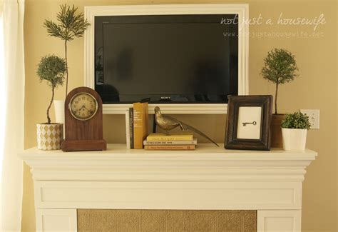 mantel decor fireplace mantel decor not just a housewife
