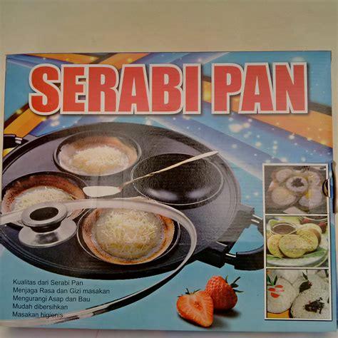 Beli Cetakan Kue Serabi jual cetakan kue serabi pan 4 lubang dan tutup kaca bravo