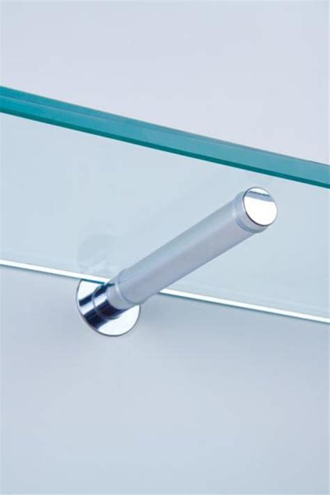 Through Glass Shelf Support by 17 Best Images About Bathroom Glass Shelf On
