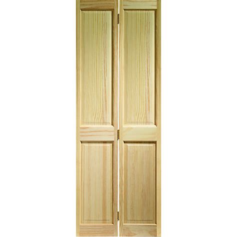 wickes doors wickes skipton bi fold door clear pine 4 panel